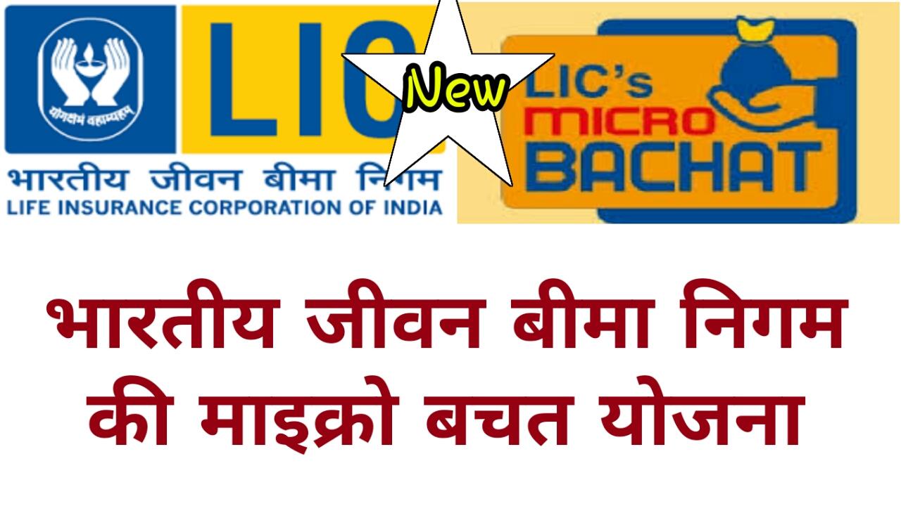 LIC Micro Bachat Plan