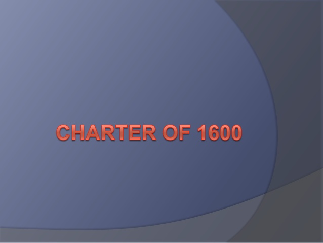 Specifications of Charter of 1600 AD in Hindi | 1600 ई० चार्टर की विशेषताए